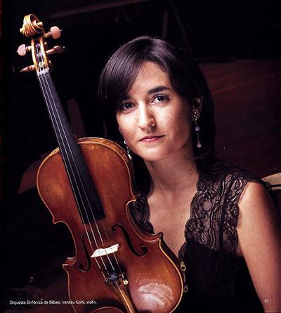 Irantzu Goñi, profesora de violín