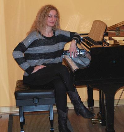 Mónica Resano, profesora de canto