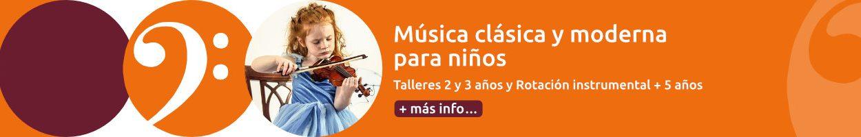 Música clásica y moderna para niños